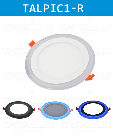 Double Color LED Panel Downlight Round Type - Tatalux