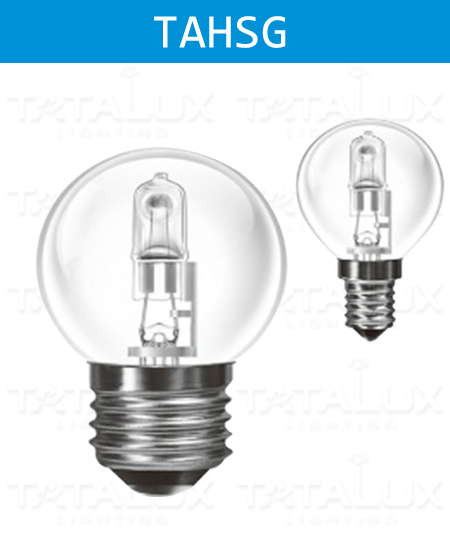 GLS Halogen Savers G45 global bulbs -Tatalux