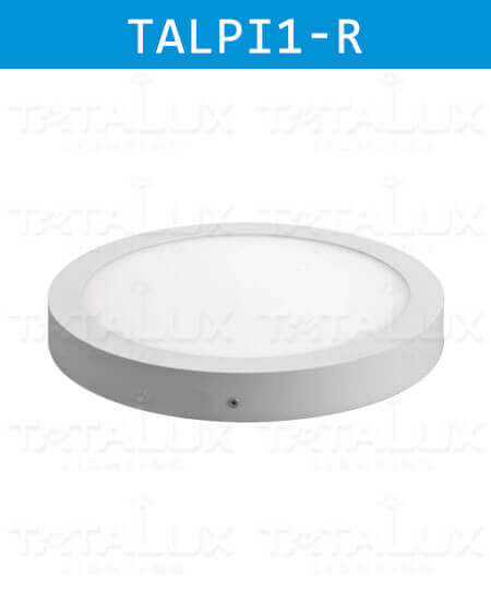 led-panel-light-surface-series-round-tatalux