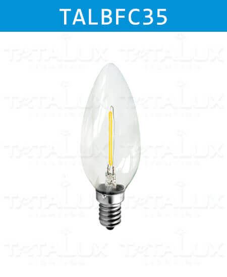 LED Filament Bulbs C35-Tatalux
