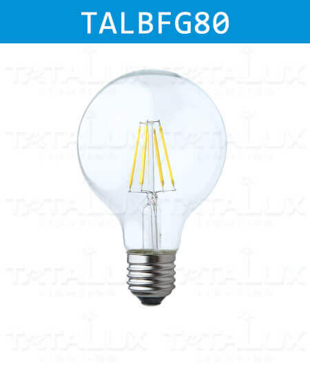 LED Filament Bulbs G80-Tatalux