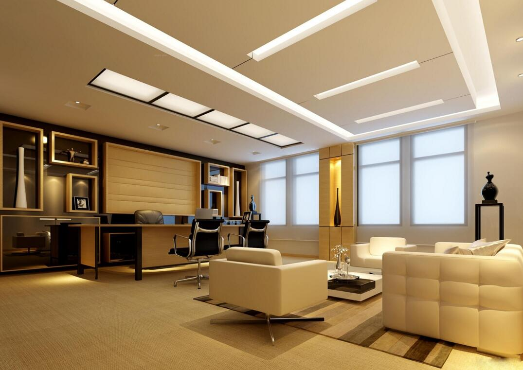 led lights in office