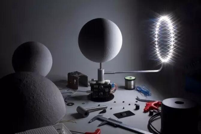Creative led table lamp the moon lamp tata lux led - Table basse lumineuse led moonlight ...