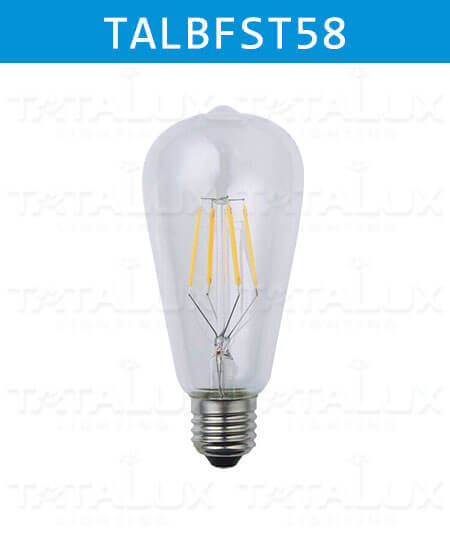 LED Filament Bulbs ST58-Tatalux